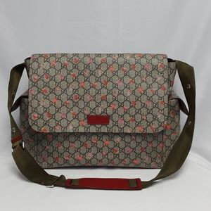 New GUCCI 21113 canvas laptop bag